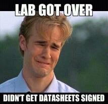 lab got over