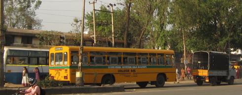 rvce college bus