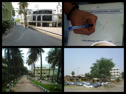 rvce bus stand collage