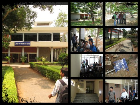 rvce library collage